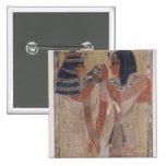 La diosa Hathor que coloca el cuello mágico Pin Cuadrada 5 Cm