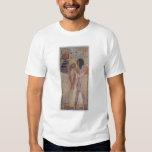 La diosa Hathor que coloca el cuello mágico Poleras