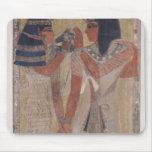 La diosa Hathor que coloca el cuello mágico Tapetes De Raton