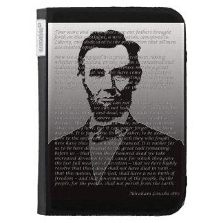 La dirección de Abraham Lincoln Gettysburg enciend