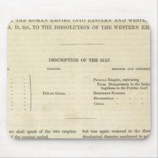 La disolución del ANUNCIO occidental del imperio 4 Alfombrilla De Raton