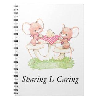 La distribución está cuidando ratones del verano libros de apuntes