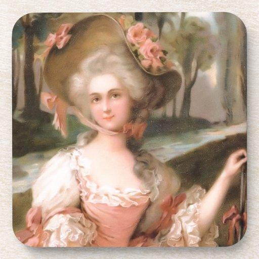 La diva como él es 1799 posavaso
