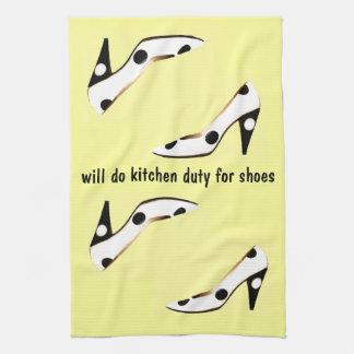 La diva de la cocina trabajará para los zapatos toallas