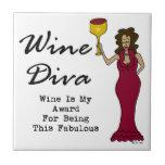 """La diva """"vino del vino es mi premio para ser fabul teja"""