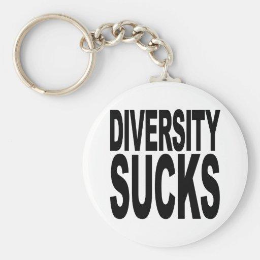 La diversidad chupa llaveros personalizados