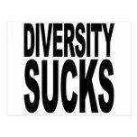 La diversidad chupa postales