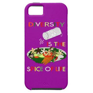 La diversidad es la especia de la cubierta del amb iPhone 5 cobertura
