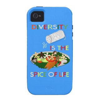 La diversidad es la especia del caso del ambiente iPhone 4/4S carcasa