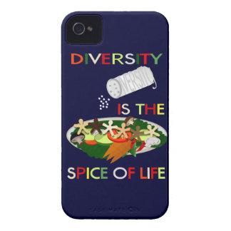 La diversidad es la especia del caso del iphone 4 iPhone 4 Case-Mate cobertura