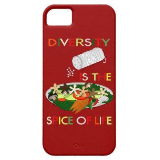 La diversidad es la especia del caso del iphone 5 iPhone 5 Case-Mate coberturas