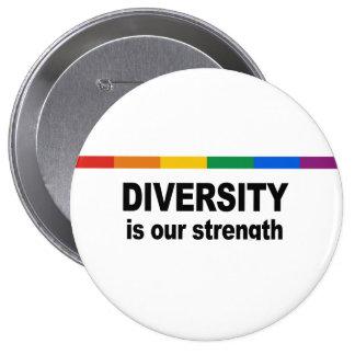 La diversidad es una fuerza pin