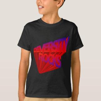 La diversidad oscila la camiseta camisas
