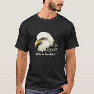"""La diversión """"calva es hermosa"""", pájaro de Eagle Playera"""