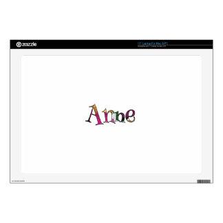 La diversión colorida de Anne Skins Para Portátiles