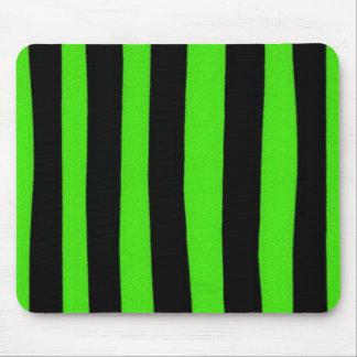 """La """"diversión diseña"""" verde de la selva tapetes de ratón"""