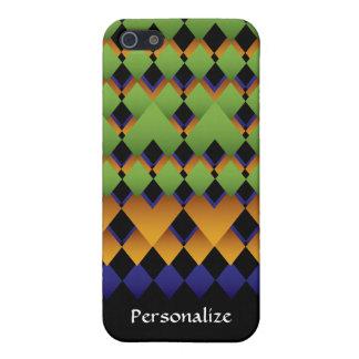 La diversión geométrica diseñó colores iPhone 5 carcasas