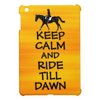 La diversión guarda calma y monta hasta caballo de iPad mini coberturas