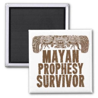 La diversión maya Prophesy el imán del supervivien