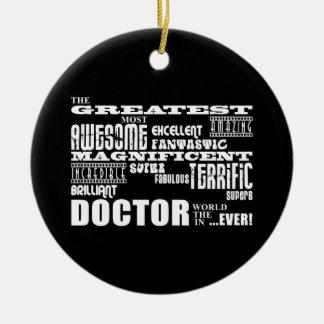 La diversión moderna fresca doctor a Greatest el d Ornamento Para Arbol De Navidad