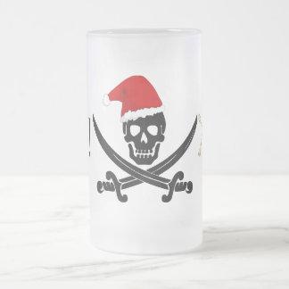 La diversión piratea la taza helada navidad