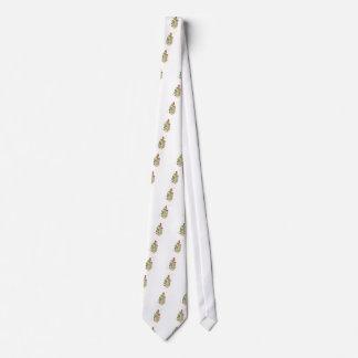 La diversión y la donadora de polen enrrollada corbata personalizada