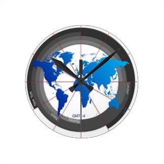 La divisa comercializa el reloj GMT-4 del Timezone
