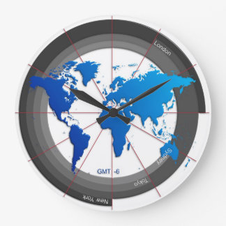 La divisa comercializa el reloj GMT-6 del Timezone