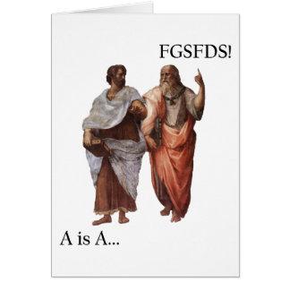 La división A de Philsophical es A contra FGSFDS Tarjeta