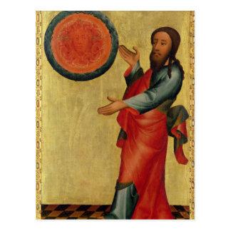 La división de las aguas del alto altar tarjeta postal