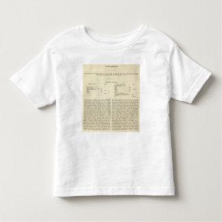 La división Del ANUNCIO 2 del imperio romano 395 Playera De Bebé