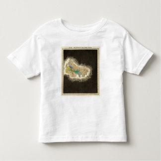 La división Del ANUNCIO del imperio romano 395 Playera De Bebé