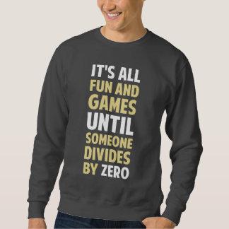 La división por cero no es un juego jersey