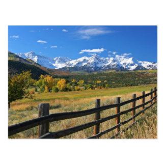 La divisoria de Dallas cerca de Ridgway, Colorado… Postal