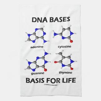 La DNA basa la base para la vida (la estructura mo Toallas