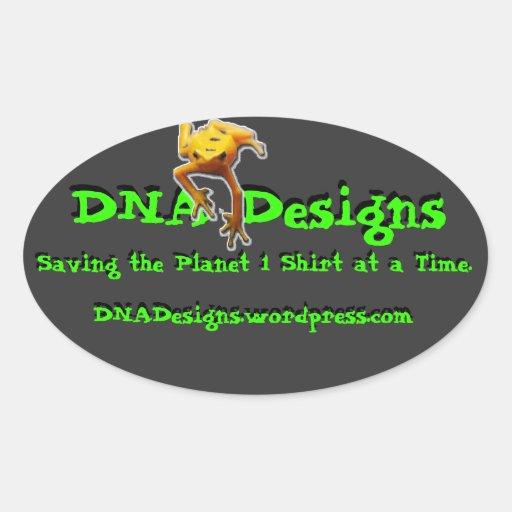 La DNA diseña a la pegatina para el parachoques