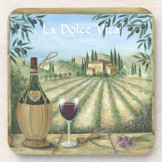 La Dolce Vita Beverage Coasters