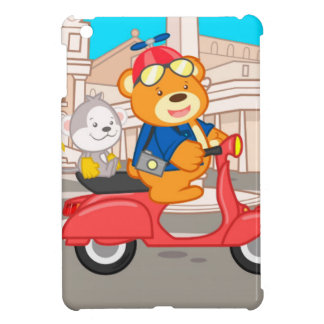 La Dolce Vita Romana - Nano Bear & Junior Monkey iPad Mini Cases