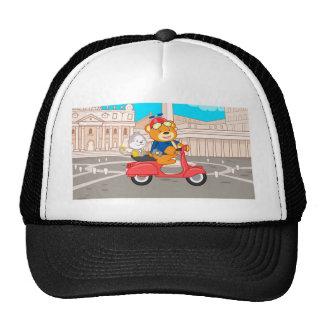 La Dolce Vita Romana - Nano Bear & Junior Monkey Trucker Hat