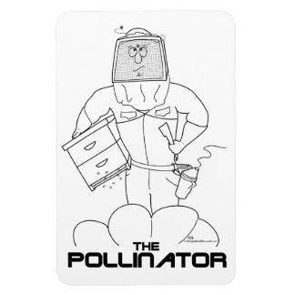La donadora de polen - Flexi-Imán Iman Flexible