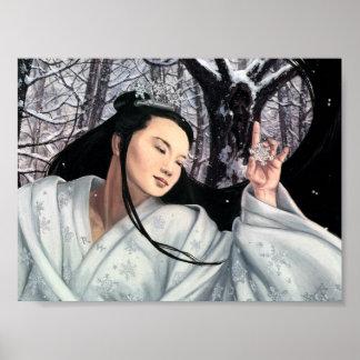 La doncella de la nieve póster