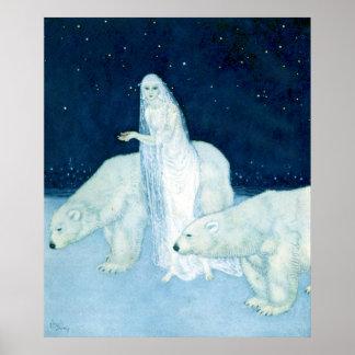 La doncella del hielo por el poster de Edmund Dula