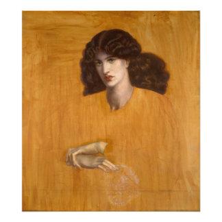 La Donna Della Finestra de Dante Gabriel Rossetti Foto
