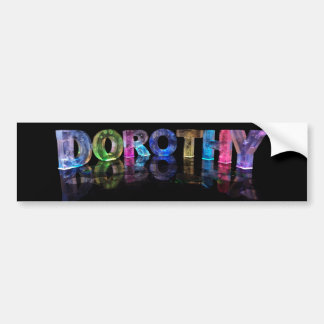 La Dorothy conocida en 3D se enciende (la fotograf Pegatina Para Auto