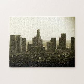 LA Downtown Buildings Puzzle