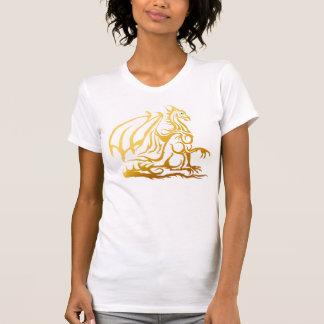 La DragonT-Camisa del oro