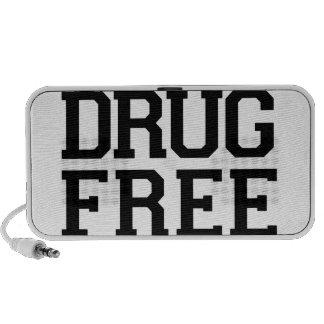 La droga libera altavoces