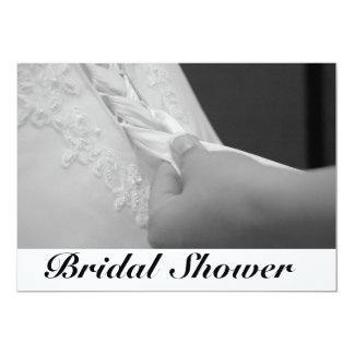 La ducha de Bidal invita Invitación 12,7 X 17,8 Cm