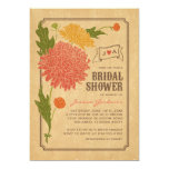 La ducha nupcial de la fiesta de jardín floral del comunicado personal