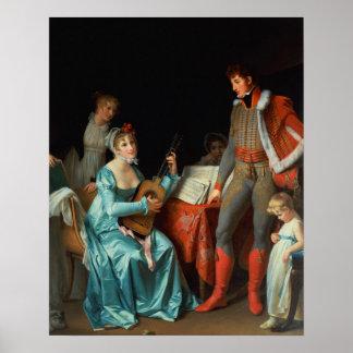La Duchesse Abrantes y le General Junot Posters